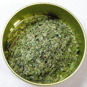 自家製柿の葉茶