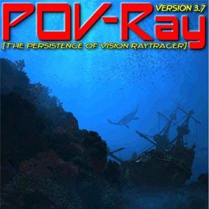POV-Ray 3.7 beta 37aタイトル画像